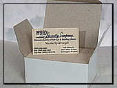 Business Card Box Rigid  - Large